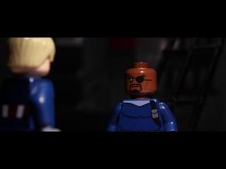 Lego Captain America: winter soldier Лего Капитан Америка: Зимний солдат